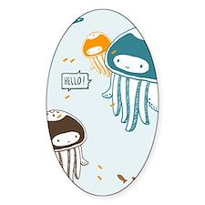 Cute Jellyfish Decal