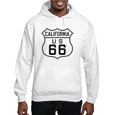 California US 66 sign Jumper Hoody