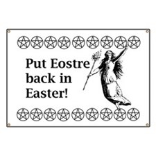 Keep Eostre in Easter! Banner