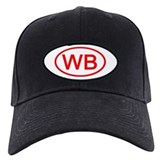 WB Oval (Red) Baseball Hat