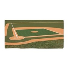 Baseball Field Beach Towel