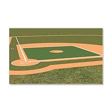 Baseball Field Car Magnet 20 x 12