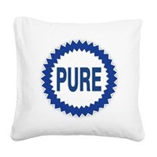 Pure Gasoline Square Canvas Pillow