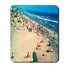 1962 Oceanside Beach Mousepad
