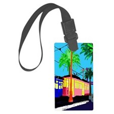 cable car duvet Luggage Tag