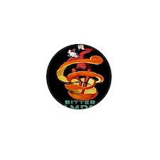 Viintage Cappiello Campari Shower Curt Mini Button