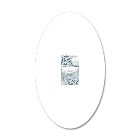 Envelope 20x12 Oval Wall Decal