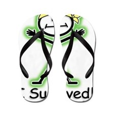 Cancer Survivor Radiation Flip Flops