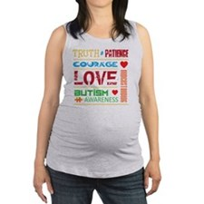 Autism Awareness Tee Maternity Tank Top