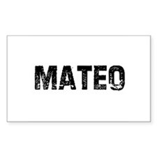 Mateo Rectangle Decal