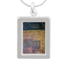 Pathos Avatar Oil on Can Silver Portrait Necklace