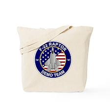 F-22 Raptor Demo Team Tote Bag