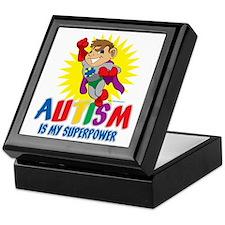 Autism Is My Superpower Keepsake Box