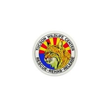 Tucson Wildlife Center New Logo Large Mini Button