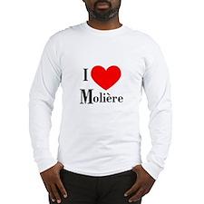 I Love Moliere Long Sleeve T-Shirt
