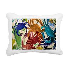 Crab Party Rectangular Canvas Pillow