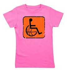 Handicap Basketball Girl's Tee