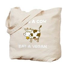 Save Cow Vegan Tote Bag