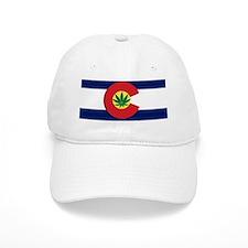 Colorado State Pot Flag Baseball Cap
