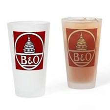 B and O Railroad Drinking Glass