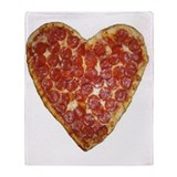 Pizza Fleece Blankets