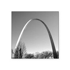 "STL Arch Square Sticker 3"" x 3"""