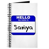 hello my name is saniya Journal