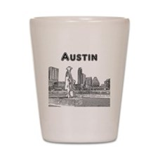 Austin_12x12_StevieRayVaughan_Black Shot Glass