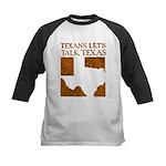 Talk Texas Kids Baseball Jersey