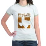 Talk Texas Jr. Ringer T-Shirt