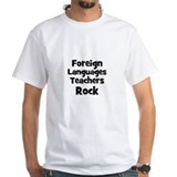 Foreign Languages Teachers Ro Shirt