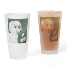 StephanieAM Poodle Drinking Glass