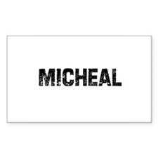 Micheal Rectangle Decal