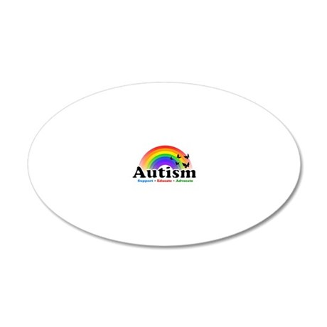 Autism 20x12 Oval Wall Decal