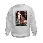 Accolade-AussieShep1 Kids Sweatshirt