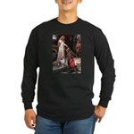 Accolade-AussieShep1 Long Sleeve Dark T-Shirt