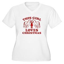 This Girl Loves Christmas T-Shirt