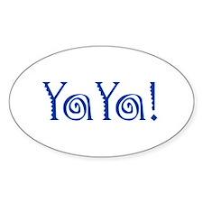 YaYa!_pocket Bumper Stickers