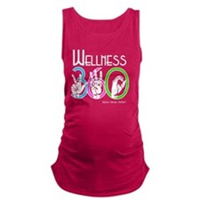 Wellness 360 Signage Original Maternity Tank Top