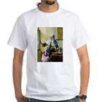 Pitcher-Aussie Shep1 White T-Shirt