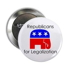 Republicans for Legalization Button