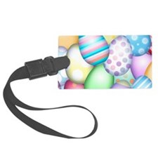 Decorated Eggs Luggage Tag