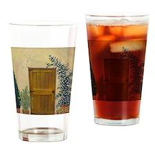 StephanieAM Wood Door Drinking Glass