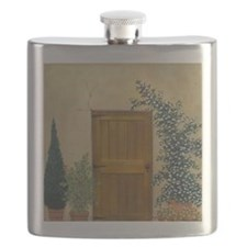 StephanieAM Wood Door Flask