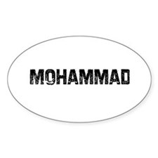 Mohammad Oval Decal