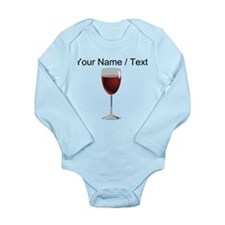 Custom Glass Of Red Wine Body Suit