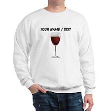 Custom Glass Of Red Wine Jumper