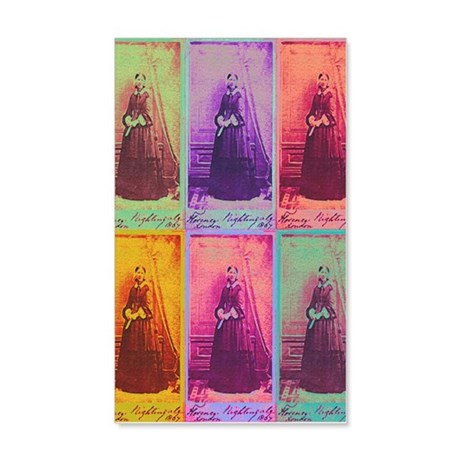 Florence Nightingale Colors 3a 20x12 Wall Decal