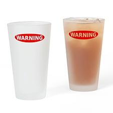 May Contain Gin Warning Drinking Glass