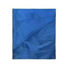Blue Fabricc Throw Blanket